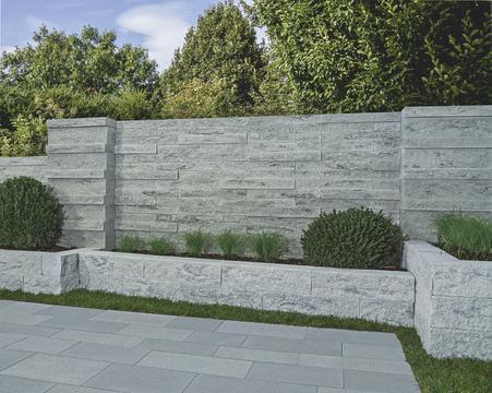 gartengestaltung laher blocksteinmauern. Black Bedroom Furniture Sets. Home Design Ideas